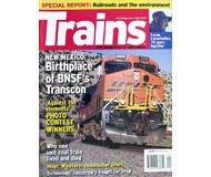 """модель Железнодорожный Моделизм 19574-85 Журнал """"TRAINS"""". Номер 4 / 2007. На английском языке."""
