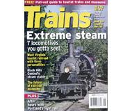 """модель Железнодорожный Моделизм 19575-85 Журнал """"TRAINS"""". Номер 5 / 2007. На английском языке."""