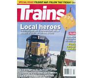 """модель Железнодорожный Моделизм 19577-85 Журнал """"TRAINS"""". Номер 7 / 2007. На английском языке."""