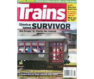 """модель Железнодорожный Моделизм 19578-85 Журнал """"TRAINS"""". Номер 8 / 2007. На английском языке."""