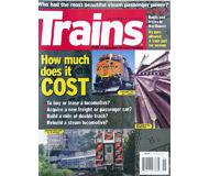 """модель Железнодорожный Моделизм 19582-85 Журнал """"TRAINS"""". Номер 1 / 2008. На английском языке."""