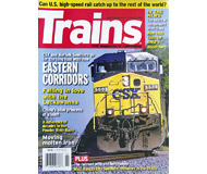 """модель Железнодорожный Моделизм 19583-85 Журнал """"TRAINS"""". Номер 2 / 2008. На английском языке."""