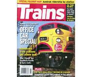 """модель Железнодорожный Моделизм 19584-85 Журнал """"TRAINS"""". Номер 3 / 2008. На английском языке."""