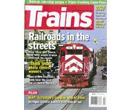"""модель Железнодорожный Моделизм 19585-85 Журнал """"TRAINS"""". Номер 4 / 2008. На английском языке."""
