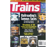 """модель Железнодорожный Моделизм 19586-85 Журнал """"TRAINS"""". Номер 5 / 2008. На английском языке."""