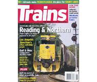 """модель Железнодорожный Моделизм 19587-85 Журнал """"TRAINS"""". Номер 6 / 2008. На английском языке."""
