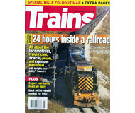 """модель Horston 19588-85 Журнал """"TRAINS"""". Номер 7 / 2008. На английском языке."""