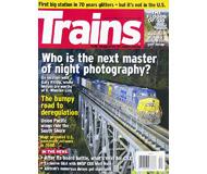 """модель Horston 19590-85 Журнал """"TRAINS"""". Номер 9 / 2008. На английском языке."""