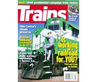 """модель Horston 19591-85 Журнал """"TRAINS"""". Номер 10 / 2008. На английском языке."""
