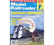 """модель Железнодорожные модели 19594-85 Журнал """"ModelRailroader"""". Номер 1 / 1999. На английском языке."""
