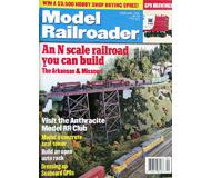 """модель Железнодорожные модели 19595-85 Журнал """"ModelRailroader"""". Номер 2 / 1999. На английском языке."""