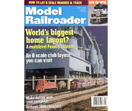 """модель Железнодорожный Моделизм 19596-85 Журнал """"ModelRailroader"""". Номер 4 / 1999. На английском языке."""