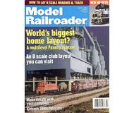 "модель ModelRailroader 19596-85 Журнал ""ModelRailroader"". Номер 4 / 1999. На английском языке."