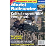 "модель ModelRailroader 19598-85 Журнал ""ModelRailroader"". Номер 6 / 1999. На английском языке."