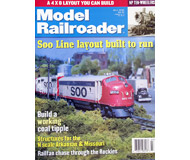 "модель ModelRailroader 19599-85 Журнал ""ModelRailroader"". Номер 7 / 1999. На английском языке."