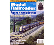 "модель ModelRailroader 19603-85 Журнал ""ModelRailroader"". Номер 11 / 1999. На английском языке."