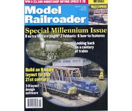 """модель Железнодорожный Моделизм 19605-85 Журнал """"ModelRailroader"""". Номер 1 / 2000. На английском языке."""