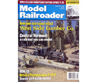 "модель ModelRailroader 19606-85 Журнал ""ModelRailroader"". Номер 2 / 2000. На английском языке."