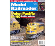 "модель ModelRailroader 19611-85 Журнал ""ModelRailroader"". Номер 7 / 2000. На английском языке."