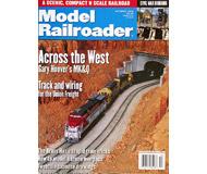 """модель Железнодорожный Моделизм 19614-85 Журнал """"ModelRailroader"""". Номер 10 / 2000. На английском языке."""