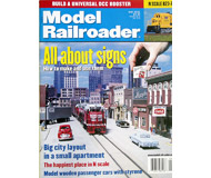 """модель Железнодорожный Моделизм 19621-85 Журнал """"ModelRailroader"""". Номер 5 / 2001. На английском языке."""