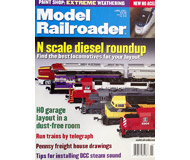 "модель ModelRailroader 19622-85 Журнал ""ModelRailroader"". Номер 6 / 2001. На английском языке."