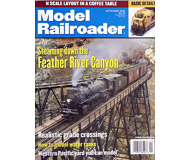 """модель Железнодорожный Моделизм 19625-85 Журнал """"ModelRailroader"""". Номер 9 / 2001. На английском языке."""