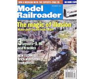 """модель Железнодорожный Моделизм 19628-85 Журнал """"ModelRailroader"""". Номер 12 / 2001. На английском языке."""