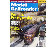"""модель Железнодорожный Моделизм 19632-85 Журнал """"ModelRailroader"""". Номер 4 / 2002. На английском языке."""