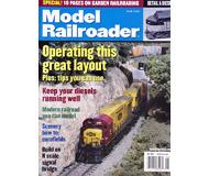 """модель Железнодорожный Моделизм 19634-85 Журнал """"ModelRailroader"""". Номер 6 / 2002. На английском языке."""