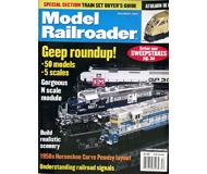 """модель Железнодорожный Моделизм 19640-85 Журнал """"ModelRailroader"""". Номер 12 / 2002. На английском языке."""