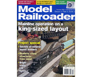 """модель Железнодорожный Моделизм 19663-85 Журнал """"ModelRailroader"""". Номер 12 / 2004. На английском языке."""