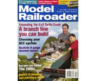 """модель Железнодорожный Моделизм 19664-85 Журнал """"ModelRailroader"""". Номер 1 / 2005. На английском языке."""