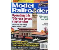 """модель Железнодорожный Моделизм 19679-85 Журнал """"ModelRailroader"""". Номер 4 / 2006. На английском языке."""