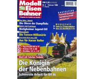 """модель Железнодорожный Моделизм 19689-85 Журнал """"Modell EisenBahner"""". Номер 2 / 1998. На немецком языке."""