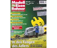 """модель Железнодорожный Моделизм 19691-85 Журнал """"Modell EisenBahner"""". Номер 4 / 1998. На немецком языке."""
