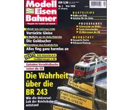 """модель Железнодорожный Моделизм 19692-85 Журнал """"Modell EisenBahner"""". Номер 5 / 1998. На немецком языке."""
