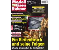 """модель Железнодорожный Моделизм 19695-85 Журнал """"Modell EisenBahner"""". Номер 8 / 1998. На немецком языке."""