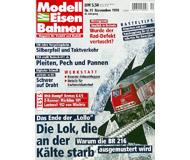 """модель Железнодорожный Моделизм 19698-85 Журнал """"Modell EisenBahner"""". Номер 11 / 1998. На немецком языке."""