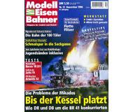 """модель Железнодорожный Моделизм 19699-85 Журнал """"Modell EisenBahner"""". Номер 12 / 1998. На немецком языке."""