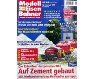 """модель Железнодорожный Моделизм 19700-85 Журнал """"Modell EisenBahner"""". Номер 1 / 1999. На немецком языке."""