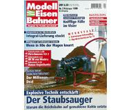 """модель Железнодорожный Моделизм 19701-85 Журнал """"Modell EisenBahner"""". Номер 2 / 1999. На немецком языке."""