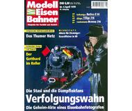 """модель Железнодорожный Моделизм 19703-85 Журнал """"Modell EisenBahner"""". Номер 4 / 1999. На немецком языке."""