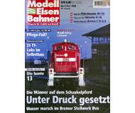 """модель Железнодорожный Моделизм 19704-85 Журнал """"Modell EisenBahner"""". Номер 5 / 1999. На немецком языке."""