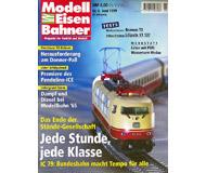 """модель Железнодорожный Моделизм 19705-85 Журнал """"Modell EisenBahner"""". Номер 6 / 1999. На немецком языке."""