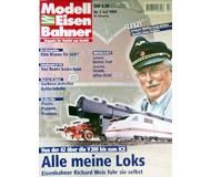 """модель Железнодорожный Моделизм 19706-85 Журнал """"Modell EisenBahner"""". Номер 7 / 1999. На немецком языке."""
