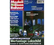 """модель Железнодорожный Моделизм 19707-85 Журнал """"Modell EisenBahner"""". Номер 8 / 1999. На немецком языке."""