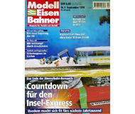 """модель Железнодорожный Моделизм 19708-85 Журнал """"Modell EisenBahner"""". Номер 9 / 1999. На немецком языке."""