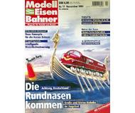 """модель Железнодорожный Моделизм 19710-85 Журнал """"Modell EisenBahner"""". Номер 11 / 1999. На немецком языке."""