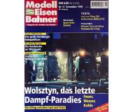 """модель Железнодорожный Моделизм 19711-85 Журнал """"Modell EisenBahner"""". Номер 12 / 1999. На немецком языке."""